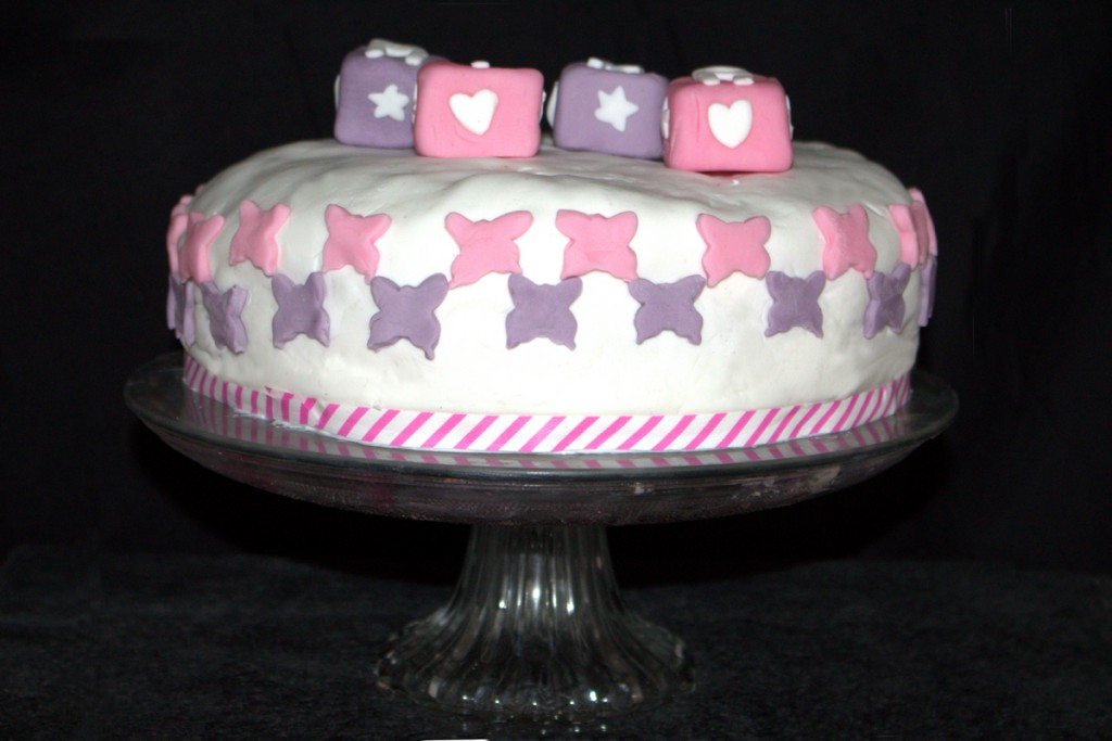 Frau Hoffmanns Babyparty Torte Pretty In Pink